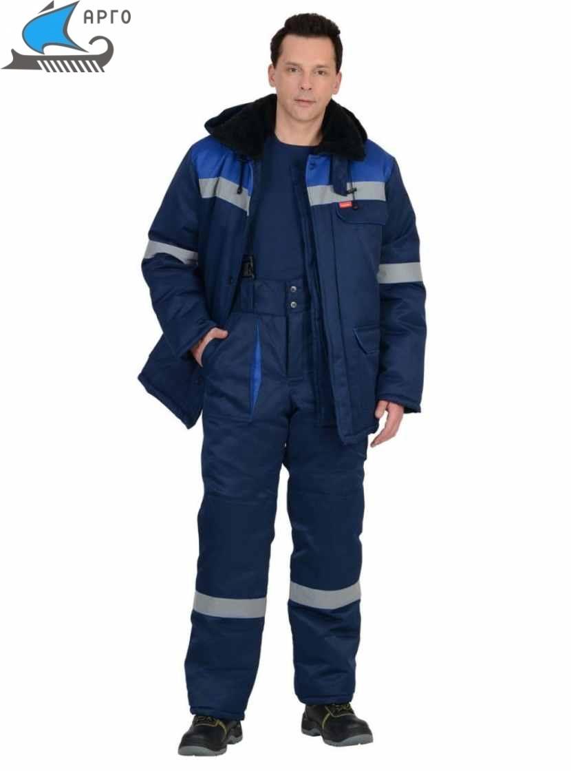 костюм на утепляющей прокладке
